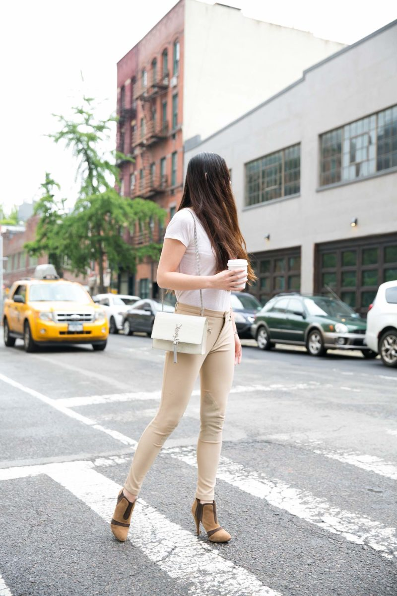 Casual outfit in West Village